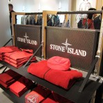Ladeneinrichtung für Stone Island von Frog Sails