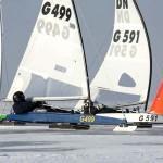 cot230 Eissegeln, Frog Sails